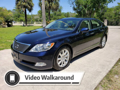 2008 Lexus LS 460 for sale at Lake Helen Auto in Lake Helen FL