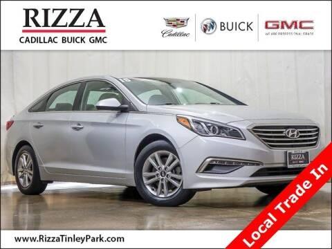 2015 Hyundai Sonata for sale at Rizza Buick GMC Cadillac in Tinley Park IL