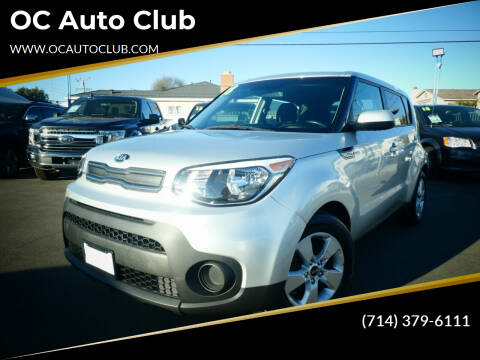 2018 Kia Soul for sale at OC Auto Club in Midway City CA