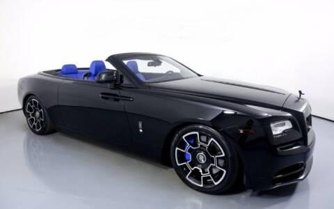 2018 Rolls-Royce Dawn for sale at Classic Car Deals in Cadillac MI