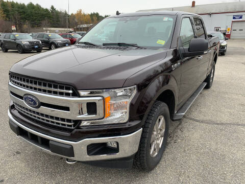 2019 Ford F-150 for sale at Ripley & Fletcher Pre-Owned Sales & Service in Farmington ME