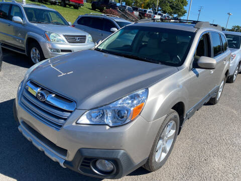 2014 Subaru Outback for sale at Ball Pre-owned Auto in Terra Alta WV
