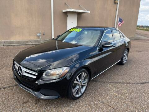 2015 Mercedes-Benz C-Class for sale at The Auto Toy Store in Robinsonville MS