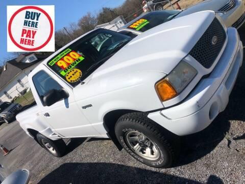 2003 Ford Ranger for sale at Redline Motorplex,LLC in Gallatin TN