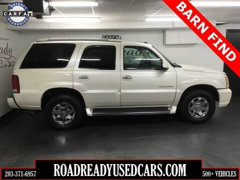 2005 Cadillac Escalade for sale at Road Ready Used Cars in Ansonia CT