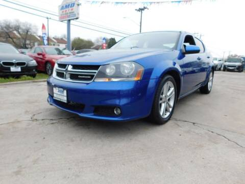 2014 Dodge Avenger for sale at AMD AUTO in San Antonio TX