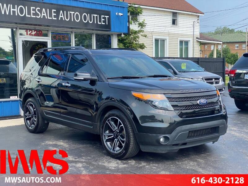 2014 Ford Explorer for sale at MWS Wholesale  Auto Outlet in Grand Rapids MI