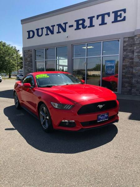 2015 Ford Mustang for sale at Dunn-Rite Auto Group in Kilmarnock VA