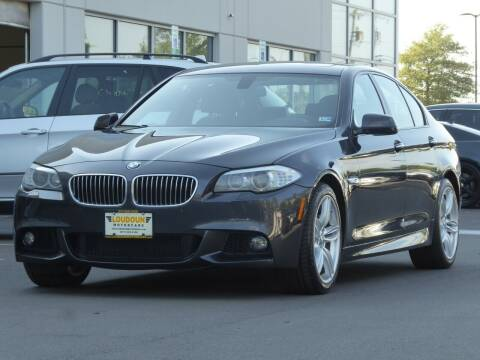 2013 BMW 5 Series for sale at Loudoun Used Cars - LOUDOUN MOTOR CARS in Chantilly VA