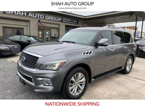 2017 Infiniti QX80 for sale at E-Z Auto Finance - E-Biz Auto in Marietta GA