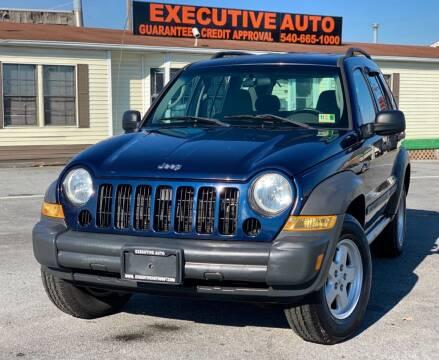 2007 Jeep Liberty for sale at Executive Auto in Winchester VA