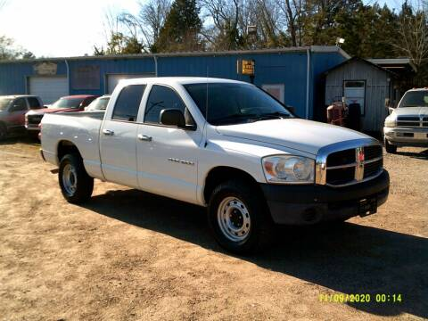 2007 Dodge Ram Pickup 1500 for sale at Tom Boyd Motors in Texarkana TX