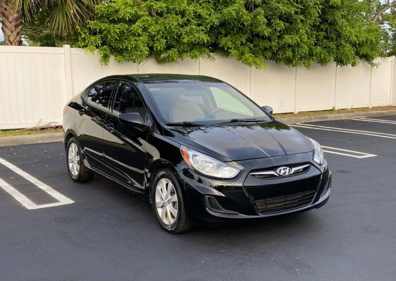 2012 Hyundai Accent for sale at FINE AUTO XCHANGE in Oakland Park FL