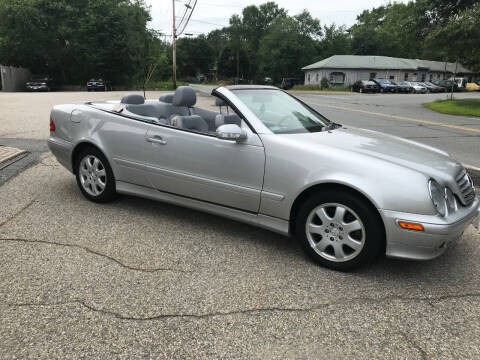 2001 Mercedes-Benz CLK for sale at Gaybrook Garage in Essex MA