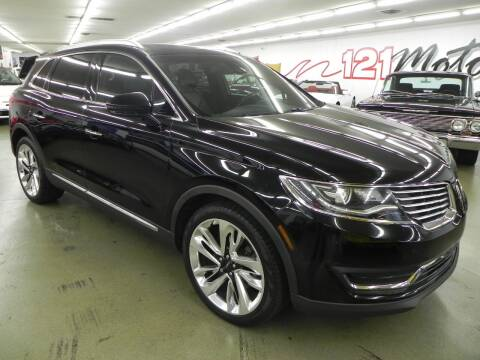 2016 Lincoln MKX for sale at 121 Motorsports in Mount Zion IL