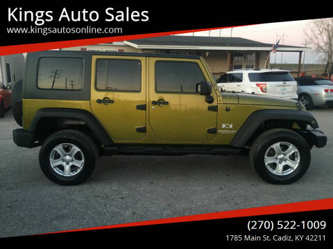 2008 Jeep Wrangler Unlimited for sale at Kings Auto Sales in Cadiz KY