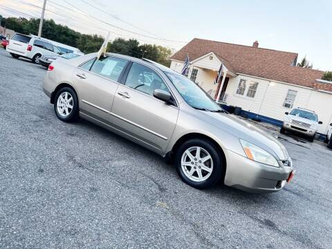2003 Honda Accord for sale at New Wave Auto of Vineland in Vineland NJ