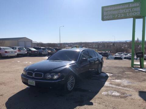 2004 BMW 7 Series for sale at Independent Auto in Belle Fourche SD