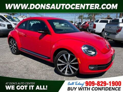 2012 Volkswagen Beetle for sale at Dons Auto Center in Fontana CA