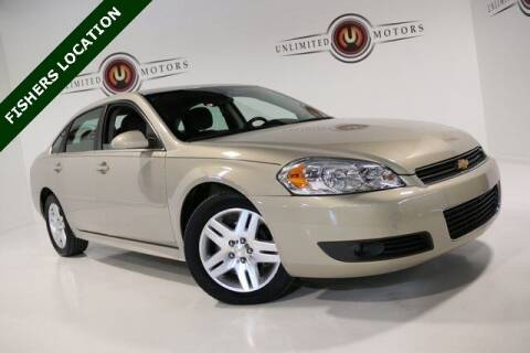 2011 Chevrolet Impala for sale at Unlimited Motors in Fishers IN