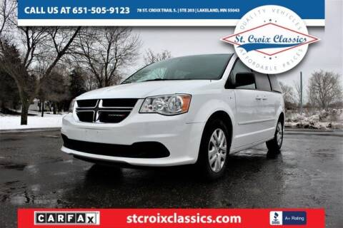 2017 Dodge Grand Caravan for sale at St. Croix Classics in Lakeland MN