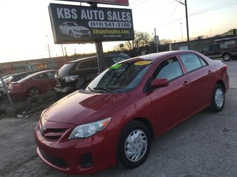 2013 Toyota Corolla for sale at KBS Auto Sales in Cincinnati OH