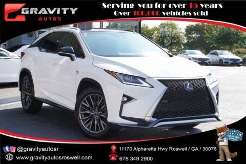 2016 Lexus RX 350 for sale at Gravity Autos Roswell in Roswell GA