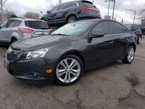 2014 Chevrolet Cruze for sale at AutoBank in Chicago IL