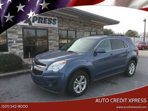 2011 Chevrolet Equinox for sale at Auto Credit Xpress in North Little Rock AR