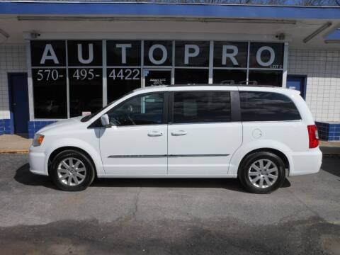 2014 Chrysler Town and Country for sale at Autopro Lot 2 in Sunbury PA