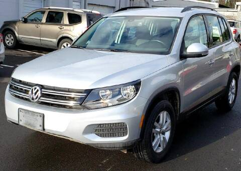 2017 Volkswagen Tiguan for sale at Halo Motors in Bellevue WA