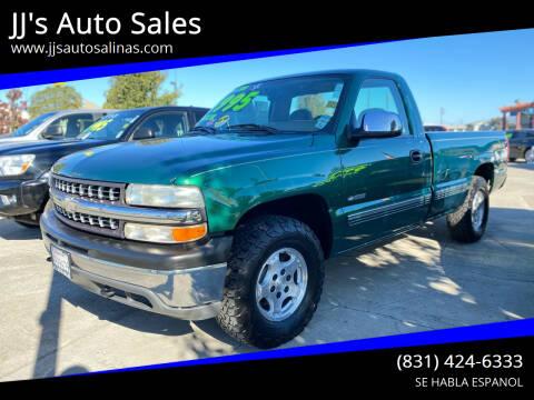 1999 Chevrolet Silverado 1500 for sale at JJ's Auto Sales in Salinas CA