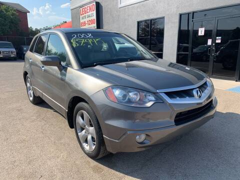 2007 Acura RDX for sale at Legend Auto Sales in El Paso TX