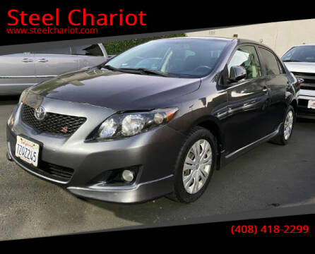 2009 Toyota Corolla for sale at Steel Chariot in San Jose CA