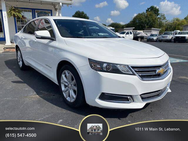 2017 Chevrolet Impala for sale at Ron's Auto Sales (DBA Select Automotive) in Lebanon TN