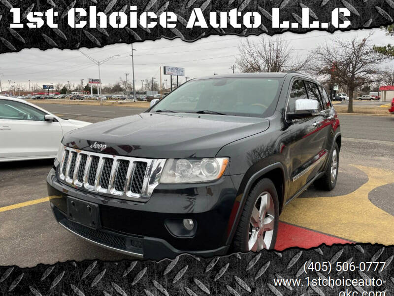 2013 Jeep Grand Cherokee for sale at 1st Choice Auto L.L.C in Oklahoma City OK