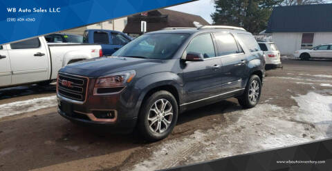 2014 GMC Acadia for sale at WB Auto Sales LLC in Barnum MN