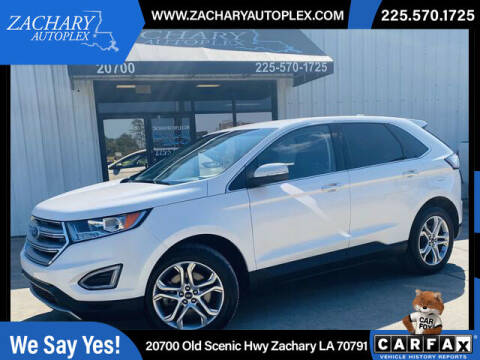 2018 Ford Edge for sale at Auto Group South in Natchez MS