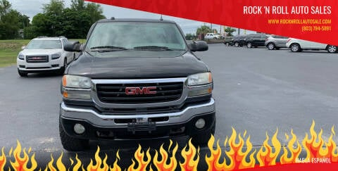 2005 GMC Sierra 2500HD for sale at Rock 'n Roll Auto Sales in West Columbia SC