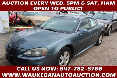 2006 Pontiac Grand Prix for sale at Waukegan Auto Auction in Waukegan IL