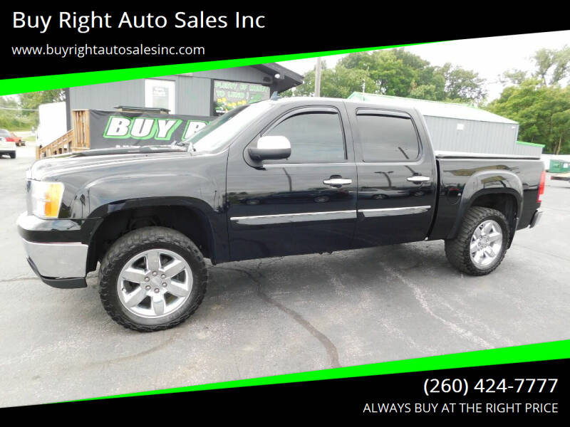 2012 GMC Sierra 1500 for sale at Buy Right Auto Sales Inc in Fort Wayne IN