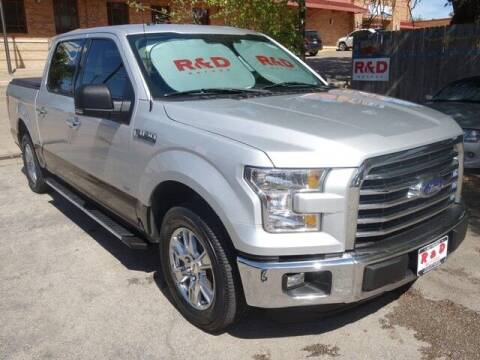 2016 Ford F-150 for sale at R & D Motors in Austin TX