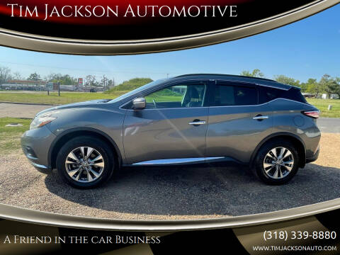 2015 Nissan Murano for sale at Tim Jackson Automotive in Jonesville LA