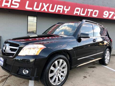 2011 Mercedes-Benz GLK for sale at Texas Luxury Auto in Cedar Hill TX