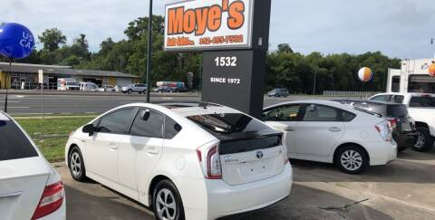 2012 Toyota Prius for sale at Moye's Auto Sales Inc. in Leesburg FL