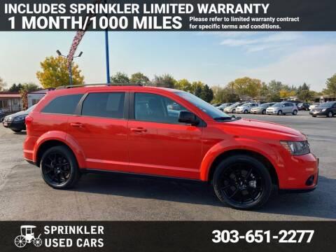 2018 Dodge Journey for sale at Sprinkler Used Cars in Longmont CO