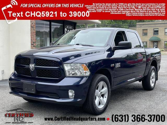2015 RAM Ram Pickup 1500 for sale at CERTIFIED HEADQUARTERS in Saint James NY