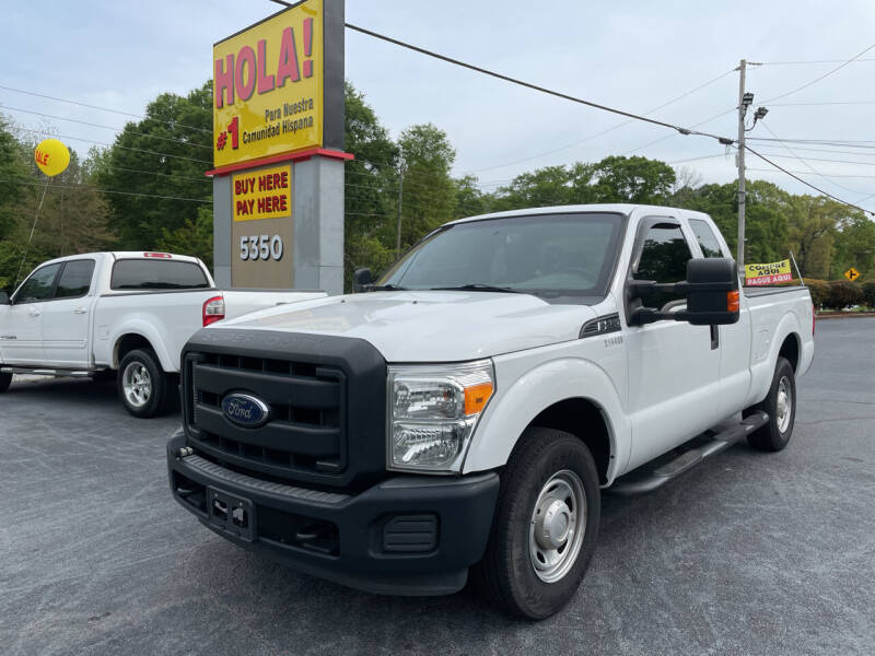 2015 Ford F-250 Super Duty for sale at No Full Coverage Auto Sales in Austell GA