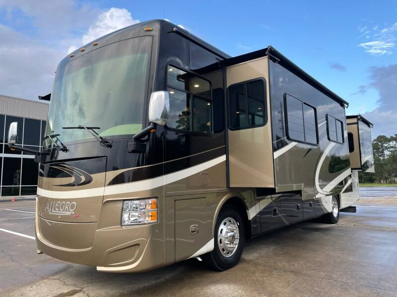 2015 Tiffin Allegro Red 36QS, Diesel  for sale at Top Choice RV in Spring TX