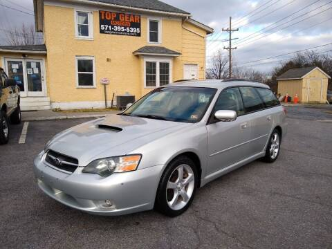 2005 Subaru Legacy for sale at Top Gear Motors in Winchester VA